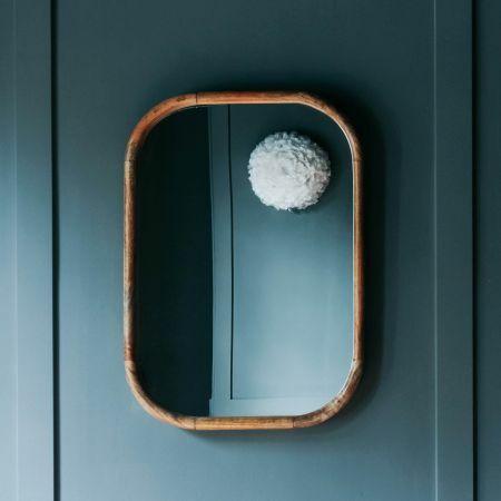 Walter Small Natural Wood Mirror