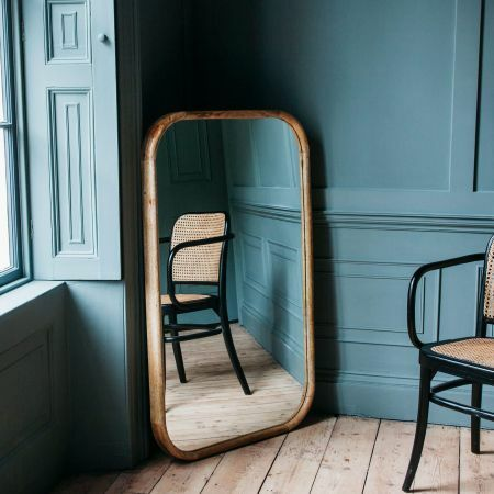 Walter Medium Natural Wood Mirror