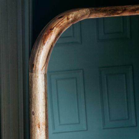 Walter Large Natural Wood Mirror