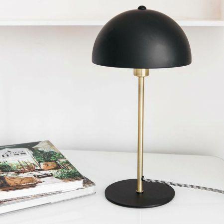 Black Bonnet Table Lamp