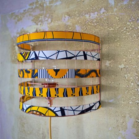 Zuri Yellow Wall Light