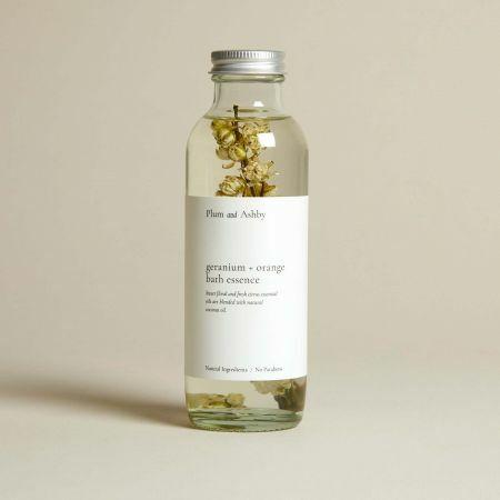 Geranium and Orange Bath Essence