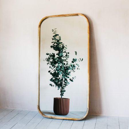 Walter Extra Large Natural Wood Mirror