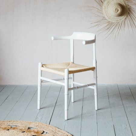 White Elm Wood and Paper Chair