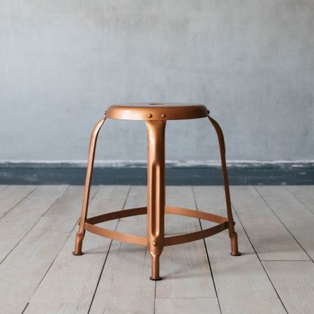 Isaac Copper Stool