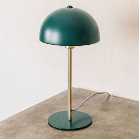 Green Bonnet Table Lamp