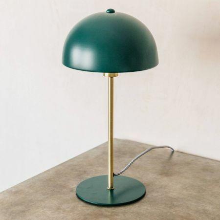 Green Bonnet Table Lamp