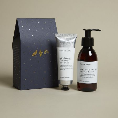 Spiced Orange and Berry Hand Wash and Cream Set
