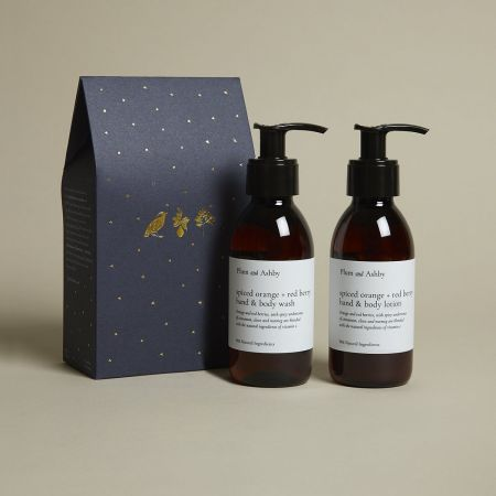 Spiced Orange and Berry Wash and Lotion Set