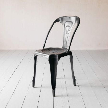 Isaac Gunmetal Chair