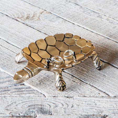 Gold Tortoise Dish