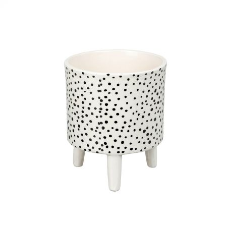 Dotty Ceramic Planter