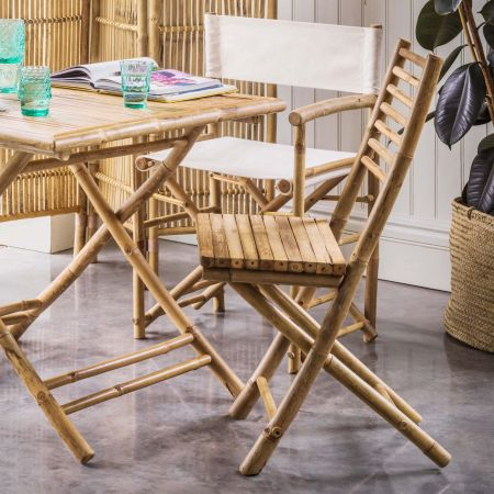 Thea Bamboo Folding Chair