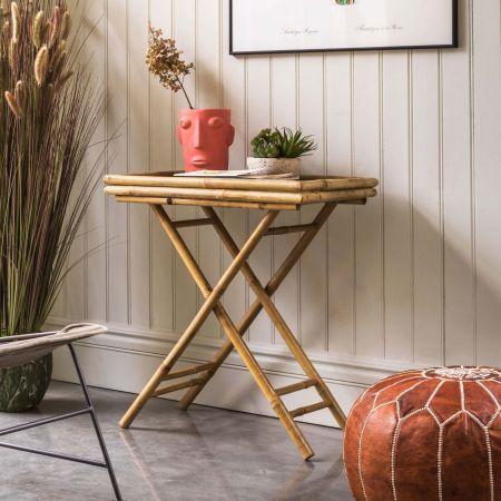Thea Bamboo Tray Table