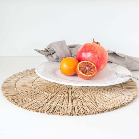 Round Grass Placemat