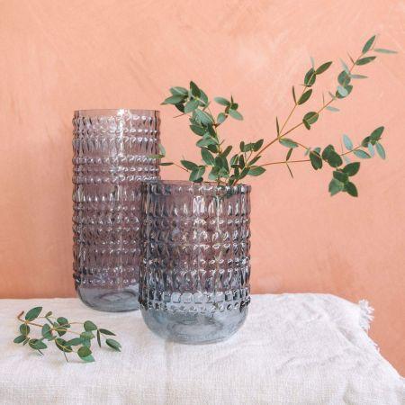 Blue Eva Vases