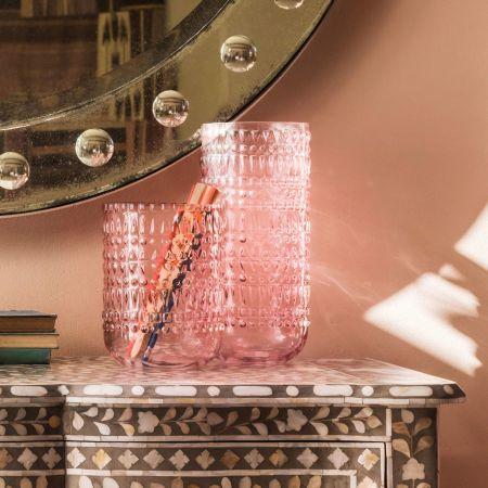 Pink Eva Vases