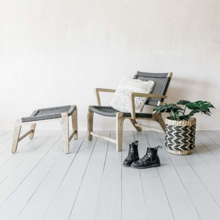 Colby Chair and Footstool