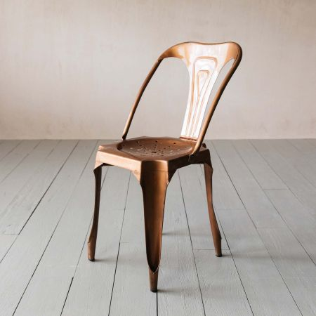 Isaac Copper Chair