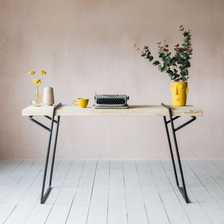 Dante Iron & Wood Desk