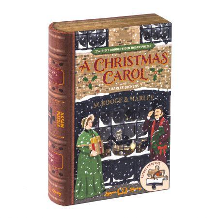 A Christmas Carol Library Jigsaw
