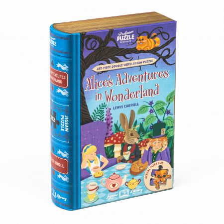 Alice In Wonderland Library Jigsaw