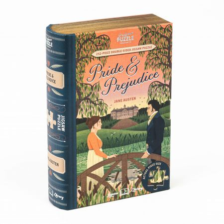Pride and Prejudice Library Jigsaw
