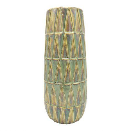 Large Green Glazed Vase