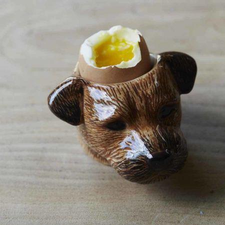 Border Terrier Egg Cup