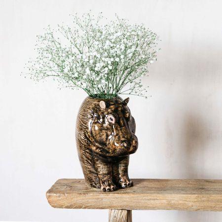 Hippo Flower Vase