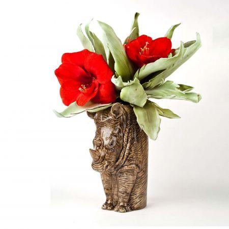 Rhino Flower Vase