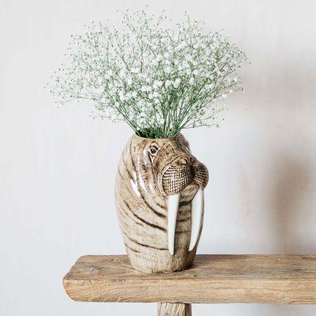 Walrus Flower Vase