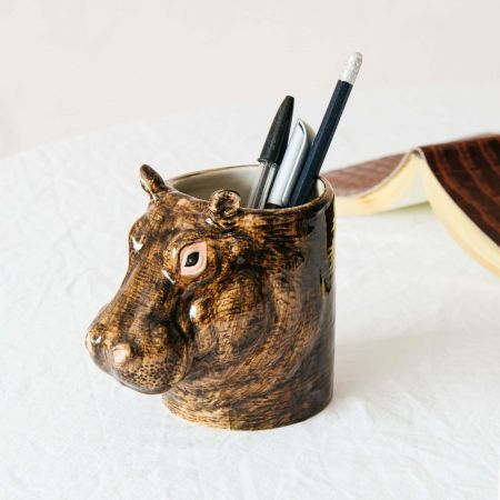 Hippo Pencil Pot