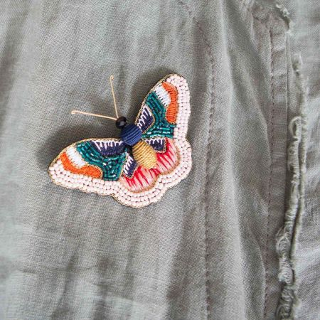 Belle Butterfly Brooch