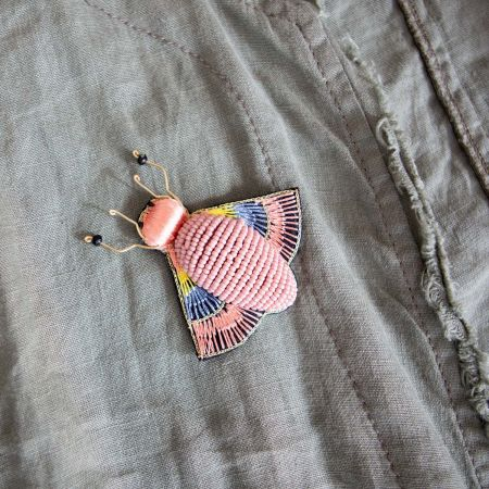 Alice Insect Brooch