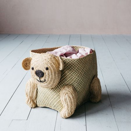 Bobby bear basket
