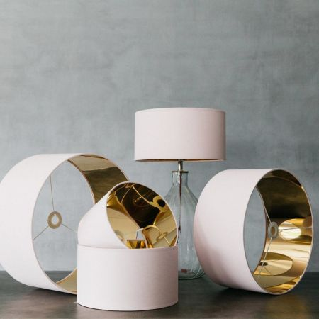 Rose Blush Lamp Shades