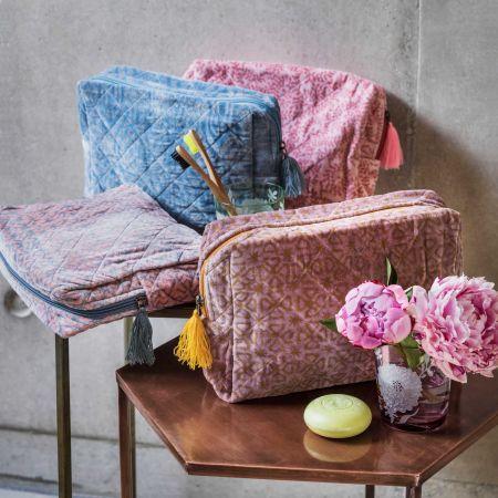 Alexa Velvet Wash Bags