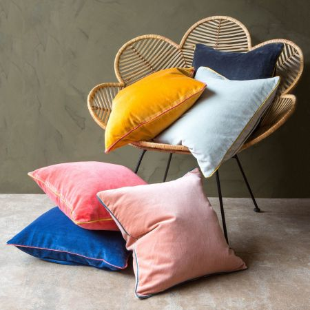 Amara Small Velvet Cushions