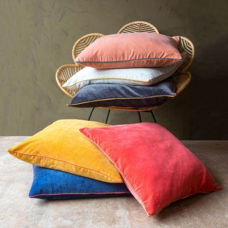 Amara Large Velvet Cushions
