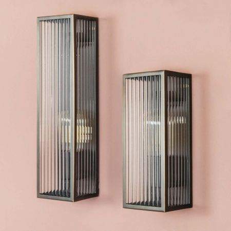 Rubbed Bronze Wall Lights