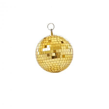 Medium Gold Disco Ball