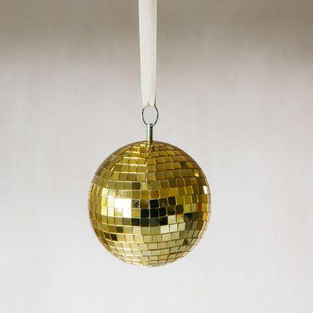 Medium Gold Disco Ball