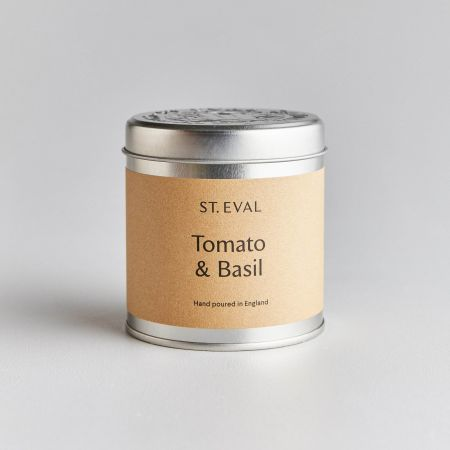 Tomato and Basil Tin Candle