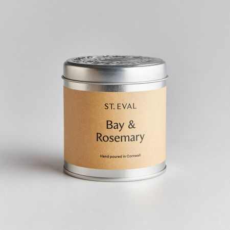 Bay Leaf and Rosemary Tin Candle