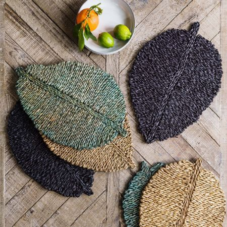 Seagrass Leaf Placemats
