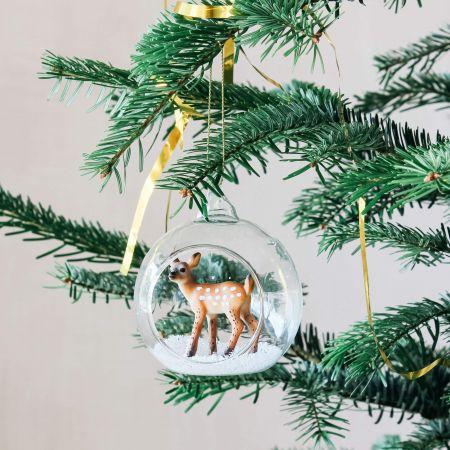 Deer in Globe Decoration