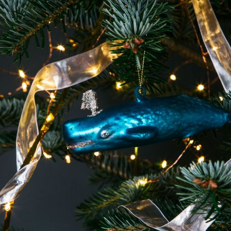 Wesley Whale Decoration