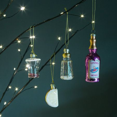 Set of Four Tequila Decorations