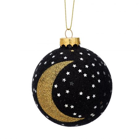 Moon and Star Bauble